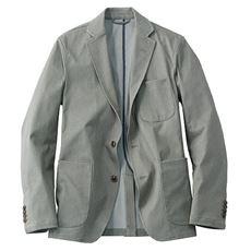 【wonder shape®】きちんと見えるのに、のびのび動ける!!全方向にストレッチする素材の多ポケット仕様ジャケット