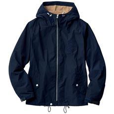 【今年の人気デザイン】マウンテンパーカ替わりに使えるはっ水仕上げ!!バッグインして携帯するのにも◎な防シワ加工素材を使用。