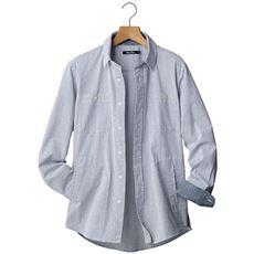 【これが必要。】大人の男の着こなしに欠かせない夏の定番シャツジャケット。ストレッチ・サッカー素材がキ・モ・チ・イ・イ