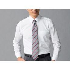 綿100%形態安定Yシャツ(長袖)(お手入れ簡単ワイシャツ)