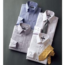 形態安定デザインYシャツ(ベーシックシルエット)(長袖)