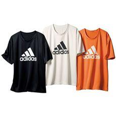 3afad5fc79fa8c メンズアディダス吸汗速乾ロゴTシャツ(adidas)
