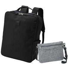 サコッシュバッグ付き多機能リュック(アネロ)(AT-C2241)