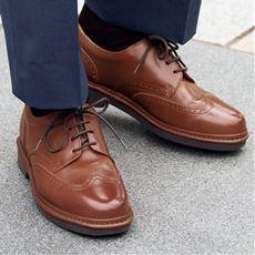 ウィングチップシューズ(リナシャンテバレンチノ)日本製・本革のクォリティー靴をビジネスのパートナーに!