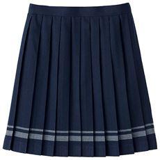 ライン入りプリーツスカート(スクール・制服)
