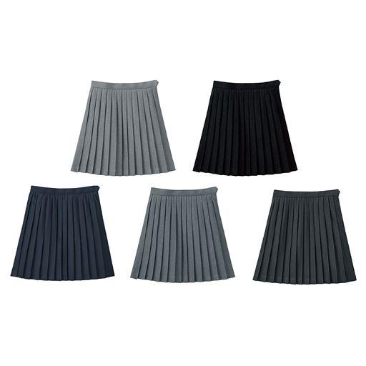 4dc5bfe05c5de1 丈が選べる単色プリーツスカート(スクール・制服)<br>カラー: ...