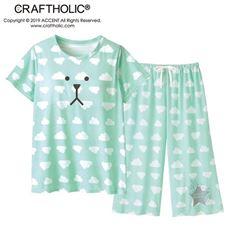 パッド付きTシャツ&パンツ(クラフトホリック)