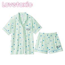 シャツタイプパジャマ(Lovetoxic)