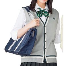 ライン入りニットベスト(スクール・制服)