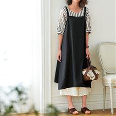 裾刺しゅうペチパンツ(綿100%)