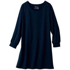 クルーネックTシャツ(7分袖)(L~10L)