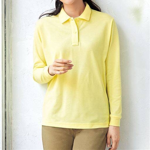 UVカットポロシャツ(長袖)(S~5L)