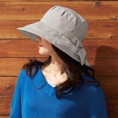21機能で小顔に見える遮熱遮光UV帽子<美活計画>
