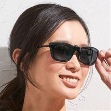 折り畳みクリップサングラス(偏光機能付き)