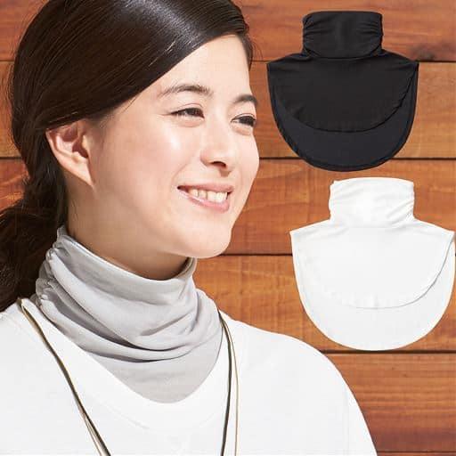 [セシール企画商品]首を日焼けから守りながら背中や胸もとの汗ジミも防止!