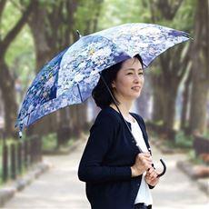 名画の雨傘(柄違い2本組)