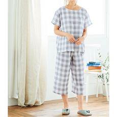 やみつきの軽さ!さわやかサマーガーゼかぶりパジャマ
