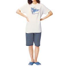 スマートドライ®プリント半袖Tタイプパジャマ(メンズサイズ)