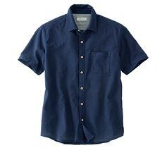 【人気シリーズ商品】綿100%パナマ織りシャツ(半袖)