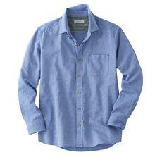 【人気シリーズ商品】綿100%パナマ織りシャツ(長袖)