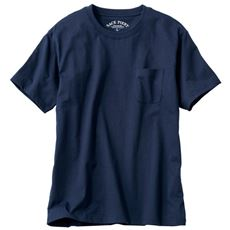 4216d76a48e4e オーガニックコットン100%素材のクルーネックTシャツ(半袖)