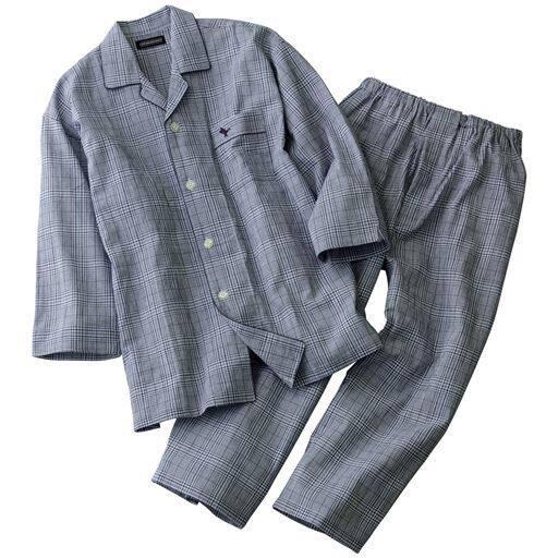 袖もパンツもちょい短め!8分袖&8分丈シャツパジャマ・GEORGEKENT