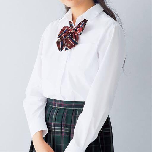 抗菌防臭&形態安定 長袖シャツ(スクール・制服)