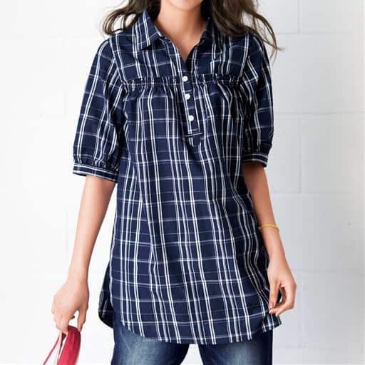 【大きいサイズ プランプ】夏は「イージーケア」のシャツで清潔感も旬度も上がる!