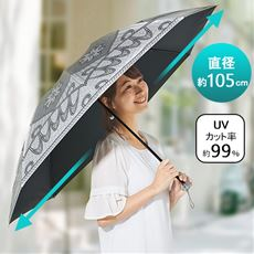 涼感・遮光率99.99日傘 「日かげ」