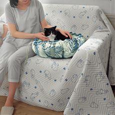 ペットのクッションベッド(接触冷感)