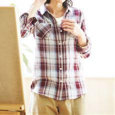 ダブルガーゼレギュラーシャツ(綿100%)