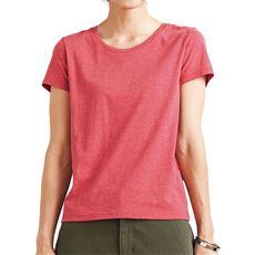 シンプルTシャツ(半袖)(S~3L・選べる2タイプ)