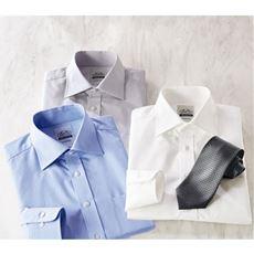 日本製播州織り・綿100%形態安定Yシャツ