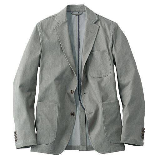 全方向ストレッチ素材のテーラードジャケット(ワンダーシェイプ®)