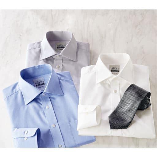 伝統の技で織り上げた日本製生地をビジネスシャツに。素材の良さを活かした播州織り形態安定ワイシャツ
