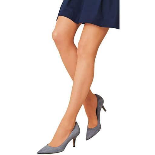 【大きいサイズ プランプ】ゆったり履きやすいから大人気♪大きいサイズ専用~ゴク楽レッグ®のパンスト。8Lまでサイズ展開