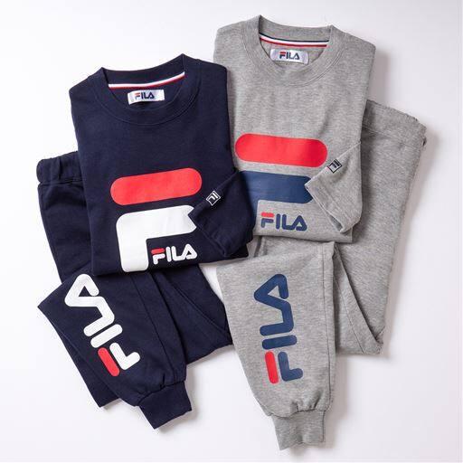 【ネット限定】スウェットパジャマ(FILA)