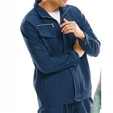 作業用ストレッチブルゾン(男性用)(静電気防止・撥油加工・ストレッチ)