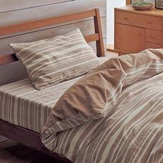 枕カバー(洗いざらしの綿100%)