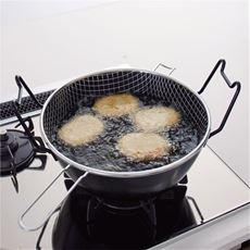 ラバーゼ 鉄の揚げ鍋(3点セット)