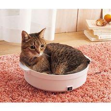 鍋型ヒーターベッド(猫鍋)