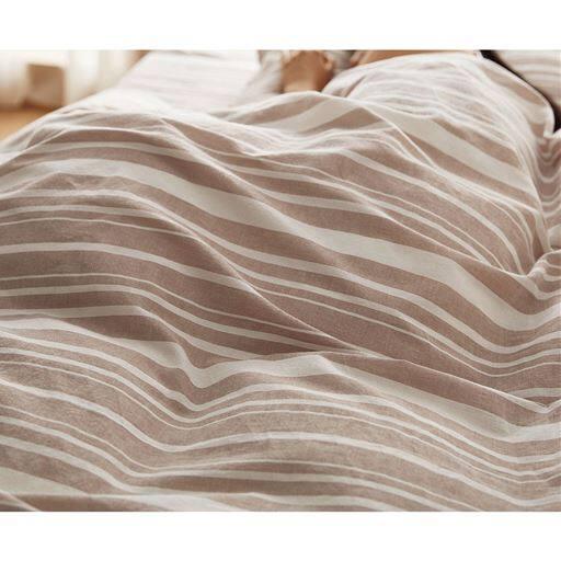 掛け布団カバー(洗いざらしの綿100%)