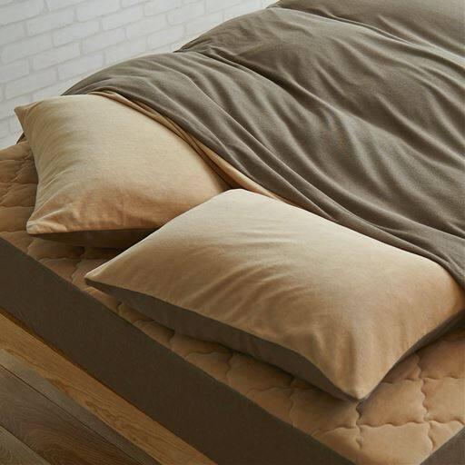 綿スマートヒート枕カバー