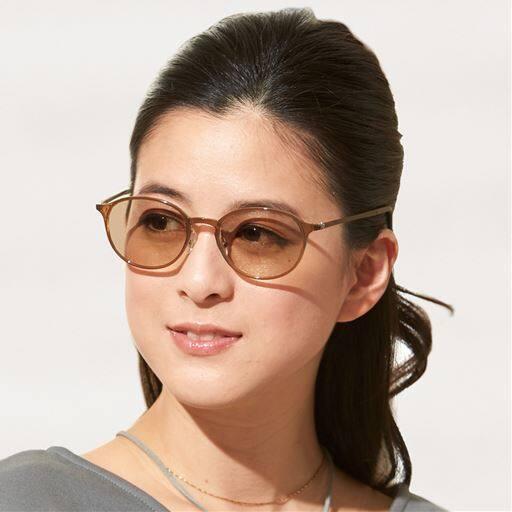 軽量柔軟調光サングラス<美活計画>