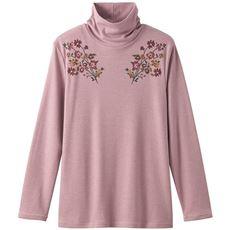 プリントルーズネックTシャツ(S~5L)