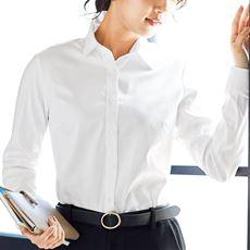 形態安定裏起毛シャツ(長袖)