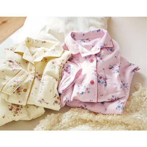 お洗濯に強い!綿毛布シャツパジャマ