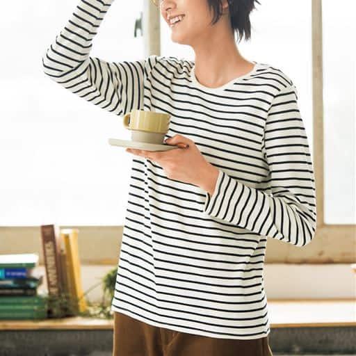 あったかシンプルTシャツ(S~5L・綿100%)