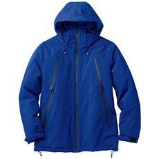 ファスナー使いデザイン中綿ジャケット・保温性の高い中空糸中綿で軽くて暖かい