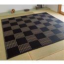 汚れもさっと拭ける カーペット ■カラー:ブラック ブラウン ■サイズ:江戸間8畳(352×348cm),江戸間2畳(174×174cm)の商品画像